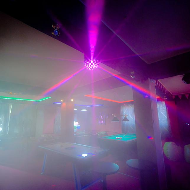 joc de lumini petreceri copii