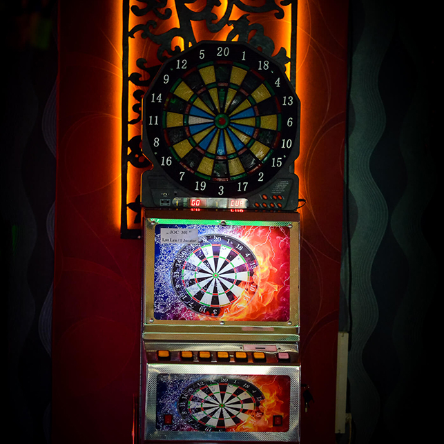 darts atractie pentru copii